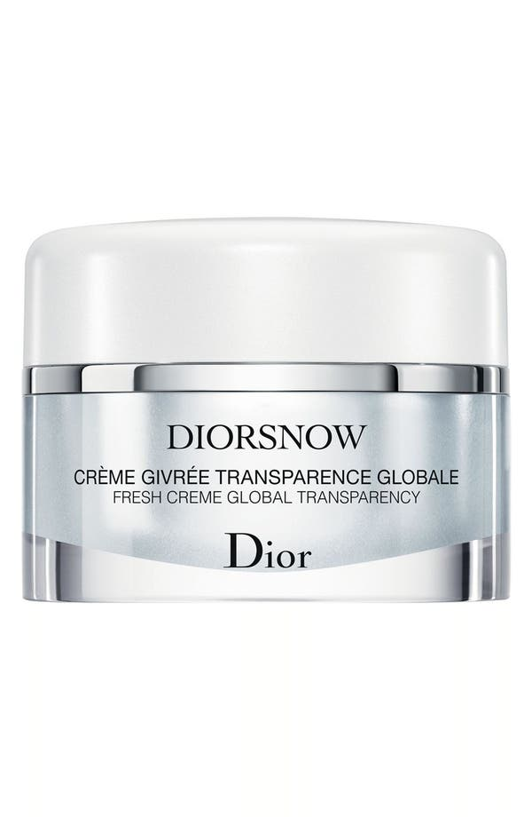Main Image - Dior 'Diorsnow' Fresh Crème Global Transparency