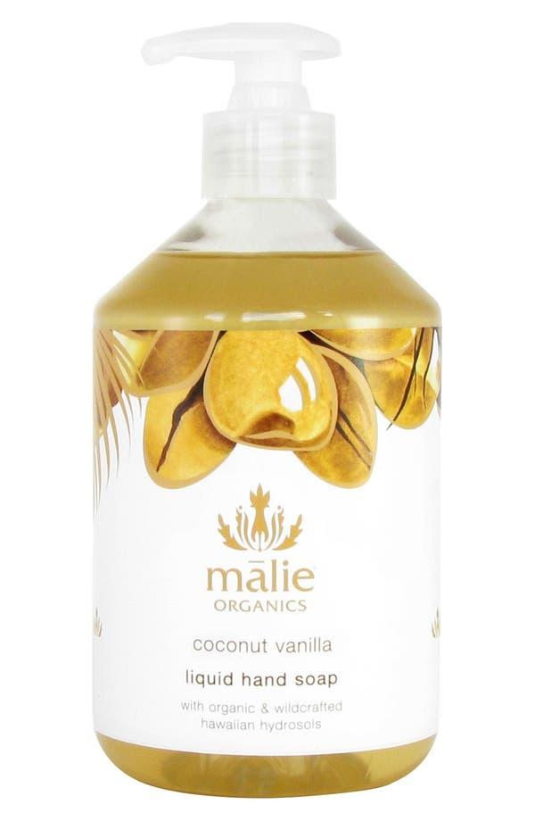 Main Image - Malie Organics Coconut Vanilla Organic Hand Soap