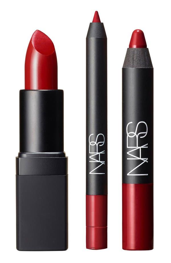 Alternate Image 1 Selected - NARS 'Fantascene - Cool Red' Lip Set (Limited Edition) ($57 Value)