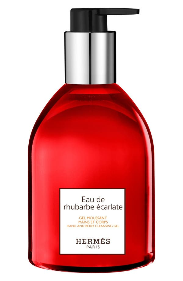 HERMÈS Eau de Rhubarbe Écarlate - Hand and