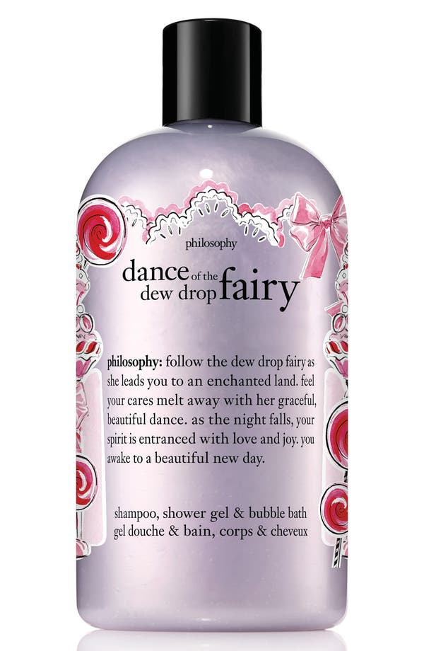 Alternate Image 1 Selected - philosophy dance of the dewdrop fairy shampoo, shower gel & bubble bath (Limited Edition)