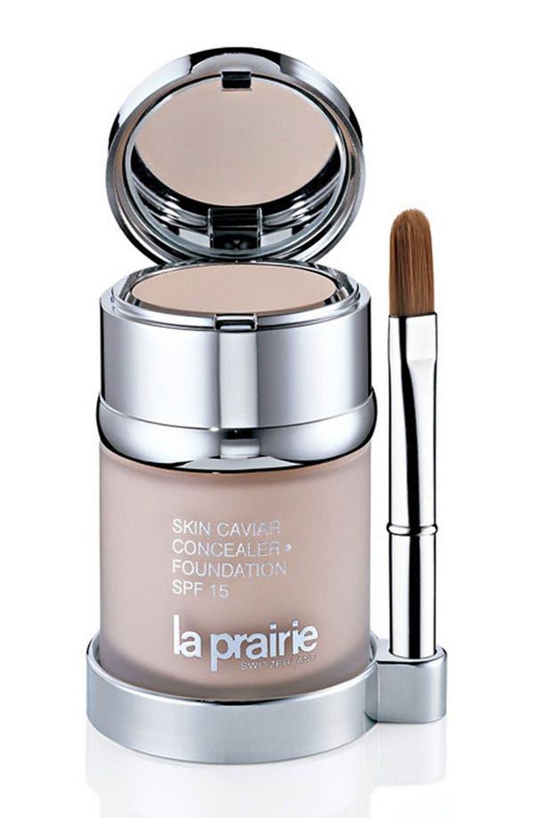 Alternate Image 1 Selected - La Prairie Skin Caviar Concealer Foundation SPF 15