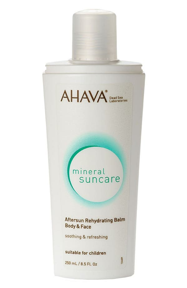 Main Image - AHAVA 'Mineral Suncare' Aftersun Rehydrating Balm
