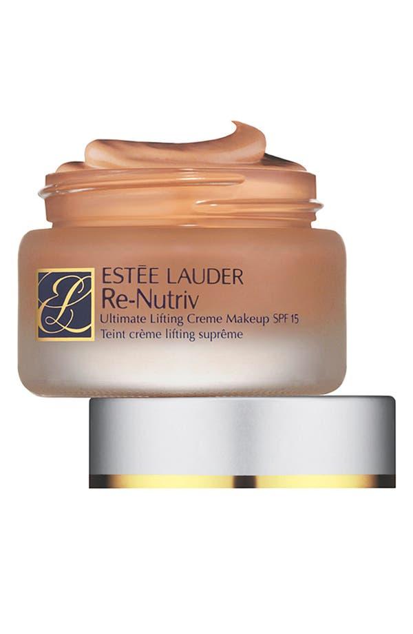Main Image - Estée Lauder 'Re-Nutriv' Ultimate Lifting Creme Makeup Broad Spectrum SPF 15