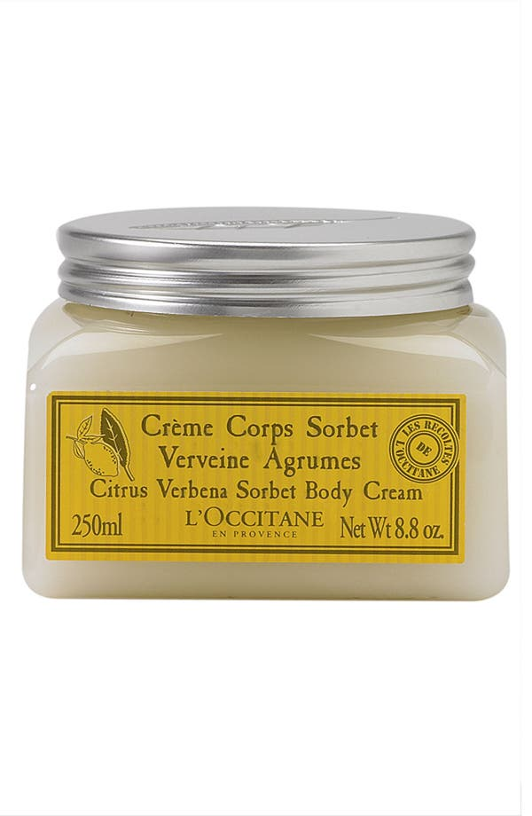 Alternate Image 1 Selected - L'Occitane 'Citrus Verbena Sorbet' Body Cream