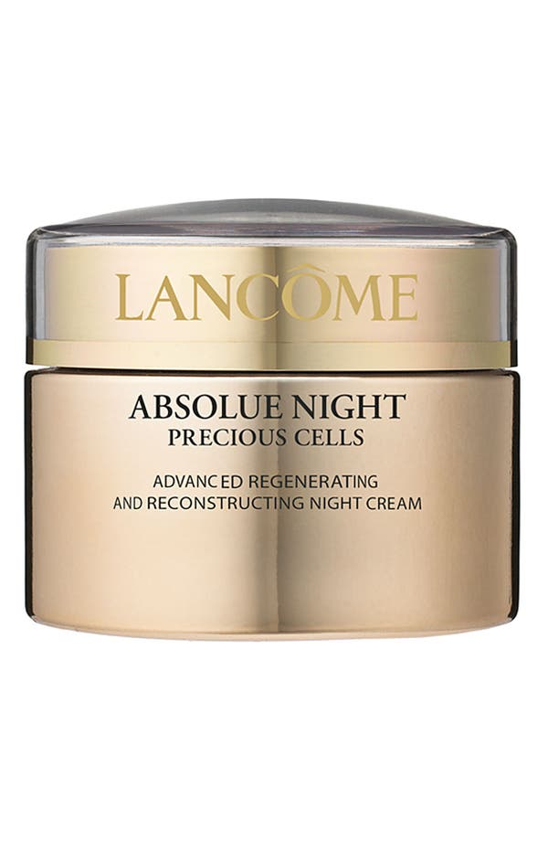Main Image - Lancôme Absolue Precious Cells Repairing and Recovering Night Moisturizer Cream