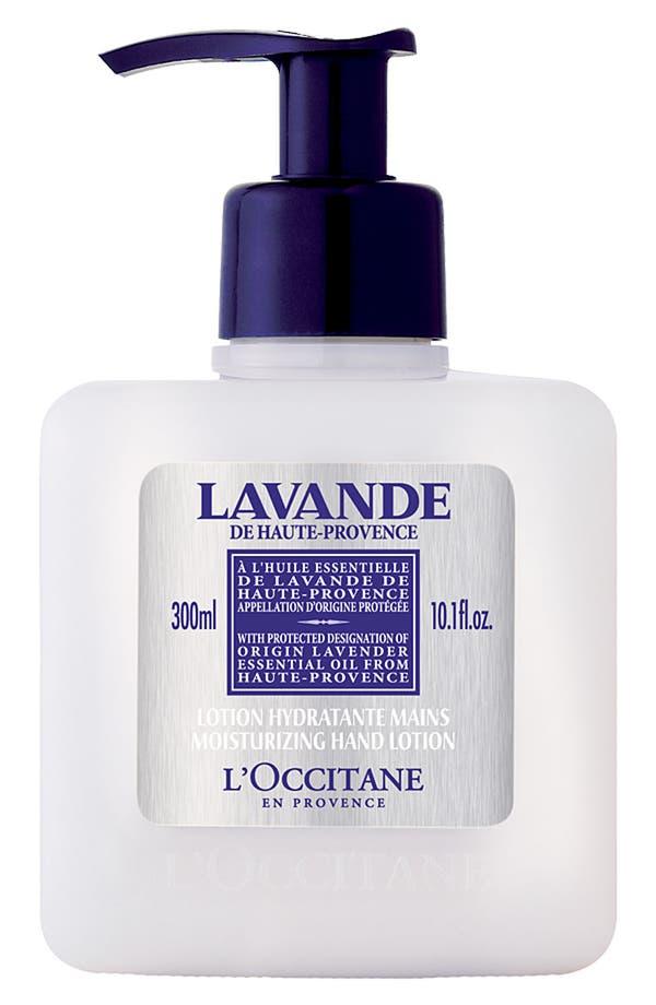 Main Image - L'Occitane Lavender Moisturizing Hand Lotion