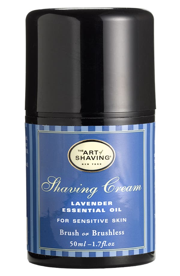 Alternate Image 1 Selected - The Art of Shaving® Pump Shaving Cream with Lavender Essential Oil
