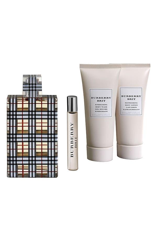 Alternate Image 1 Selected - Burberry Brit Eau de Parfum Set ($153 Value)