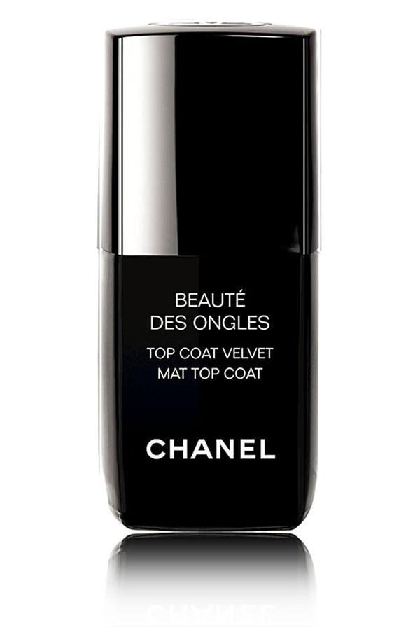 Alternate Image 1 Selected - CHANEL BEAUTE DES ONGLES  Top Coat Velvet