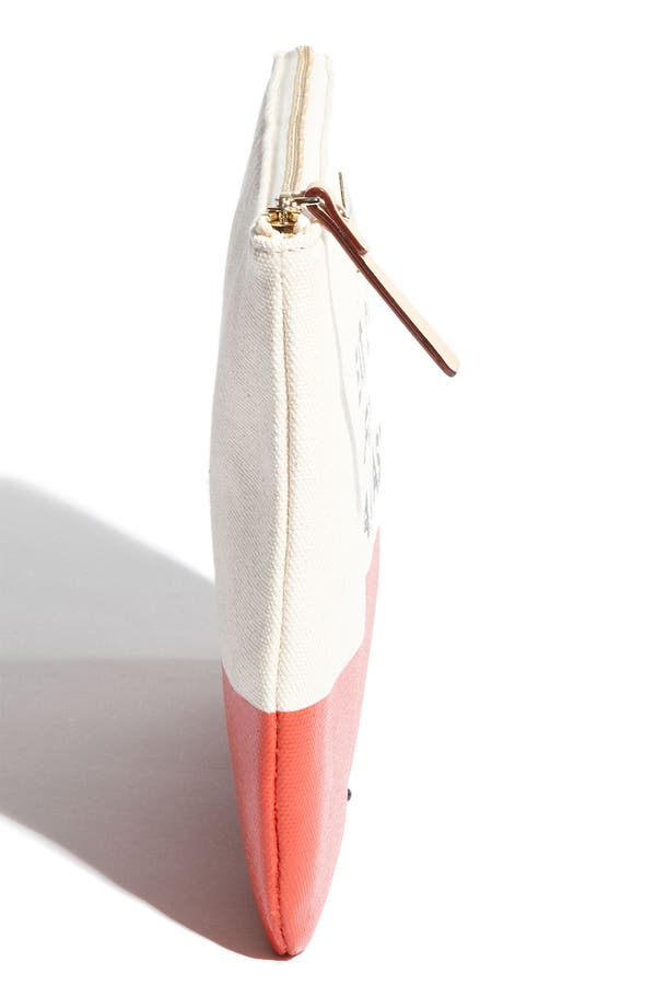 Alternate Image 2  - kate spade new york new york 'call to action - gia' cosmetics pouch