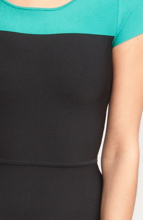 Alternate Image 3  - BCBGMAXAZRIA Colorblock Knit Dress