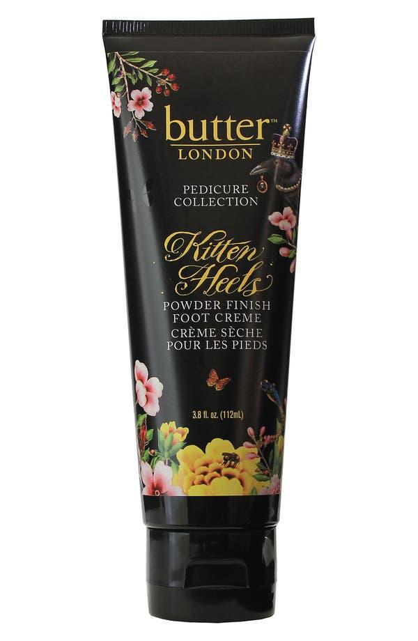 Main Image - butter LONDON 'Kitten Heels' Powder Finish Foot Crème