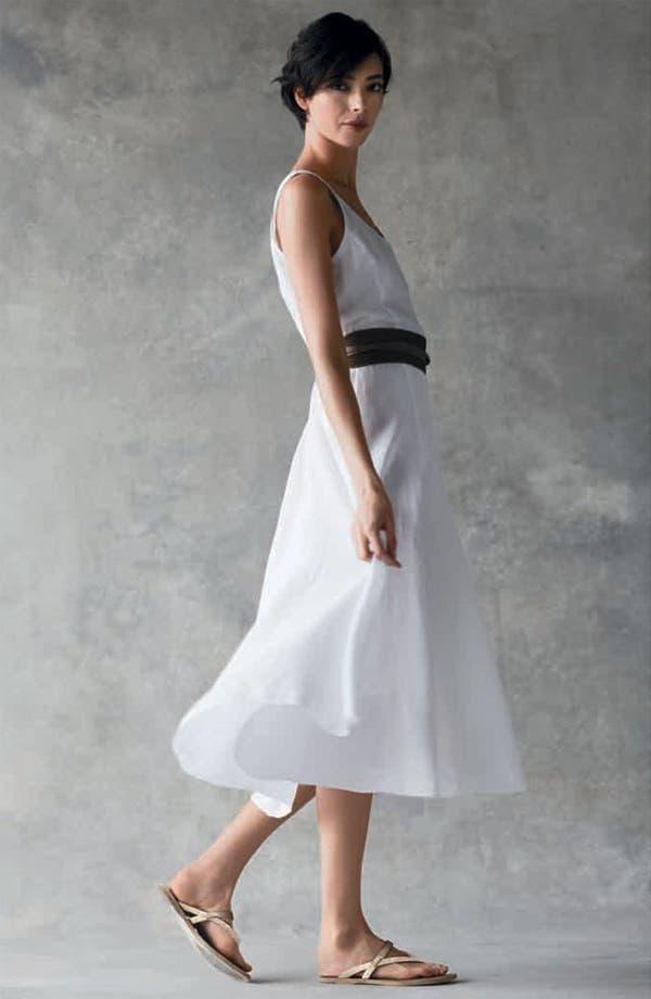 Alternate Image 6  - Eileen Fisher Cotton Dress with Convertible Hem
