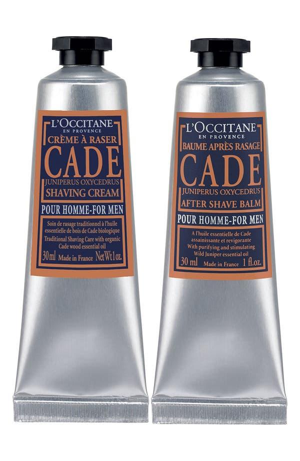 Main Image - L'Occitane 'A Man's Ritual - Cade' Shaving Duo ($24 Value)