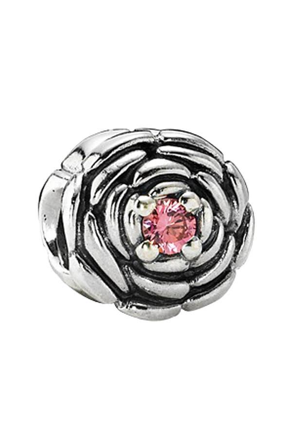 Main Image - PANDORA 'Blooming Rose' Charm