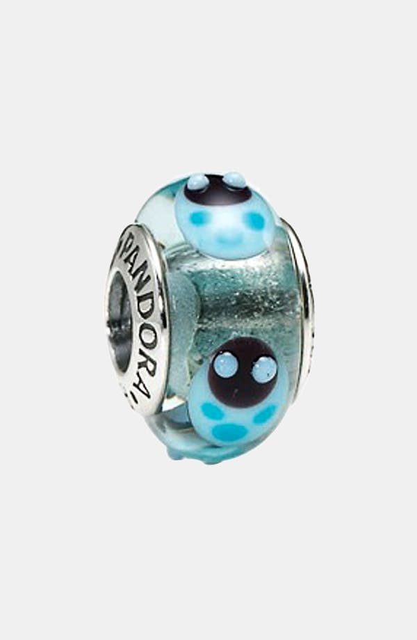 Alternate Image 1 Selected - PANDORA 'Ladybugs' Murano Glass Charm