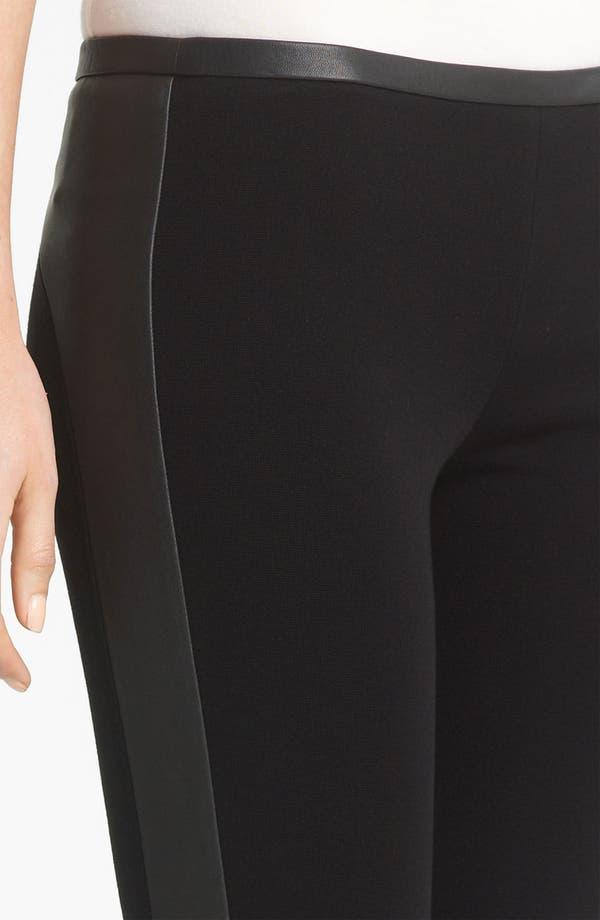 Alternate Image 3  - Emilio Pucci Leather Trim Leggings