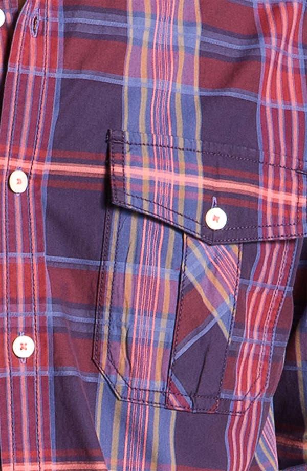 Alternate Image 3  - Tommy Bahama Denim 'Pagoda' Plaid Sport Shirt