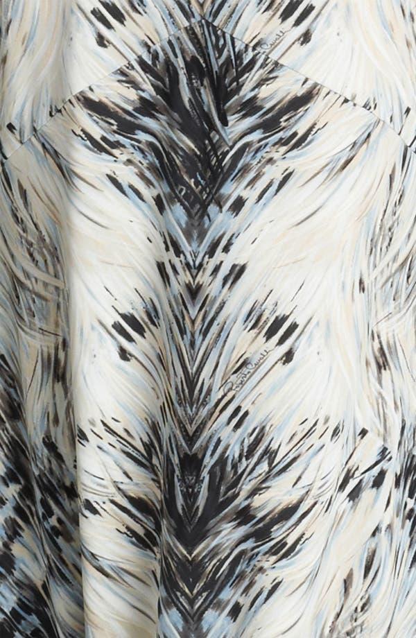 Alternate Image 3  - Roberto Cavalli Print Jersey Fishtail Gown
