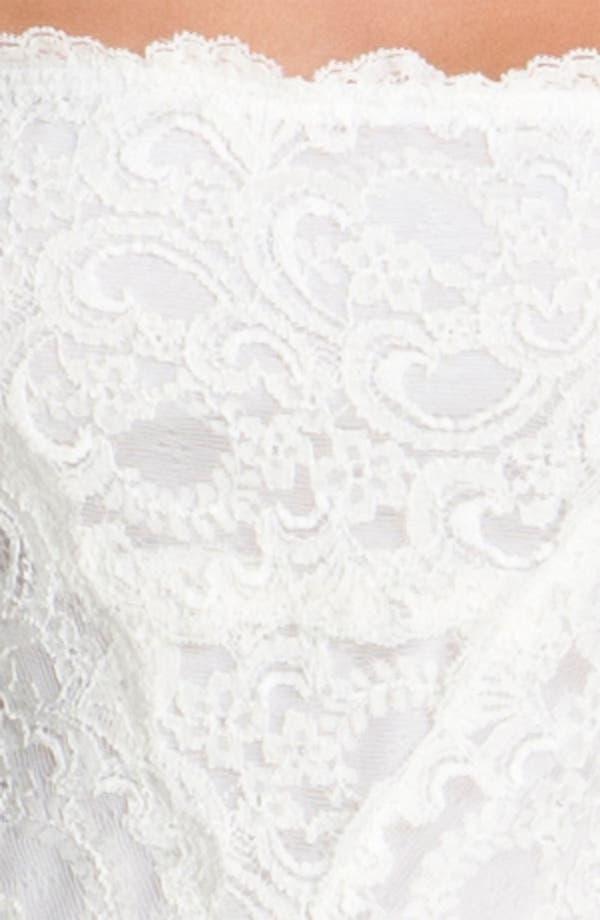 Alternate Image 3  - Nicole Miller Wide Strap Lace Sheath Dress