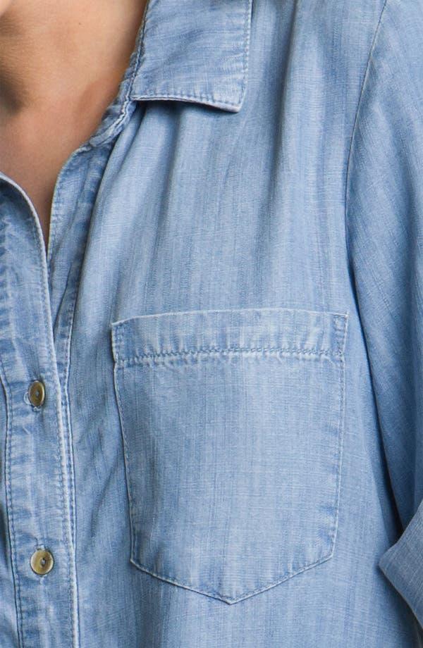Alternate Image 3  - Bella Dahl Chambray Shirt