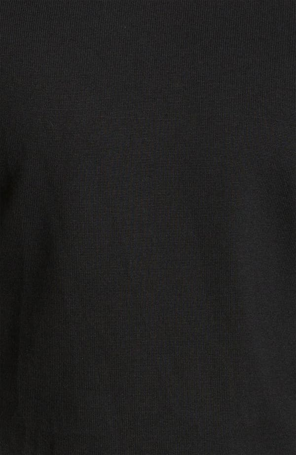 Alternate Image 3  - BOSS Black Slim Fit Wool Turtleneck