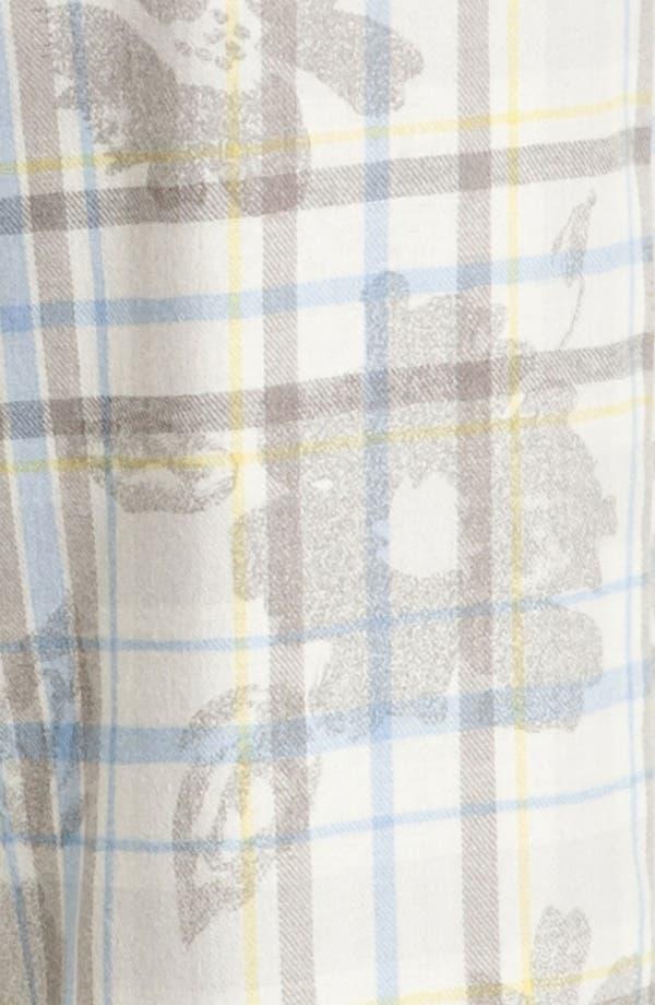 Alternate Image 3  - Hue 'Cassie Floral' Pajama Pants