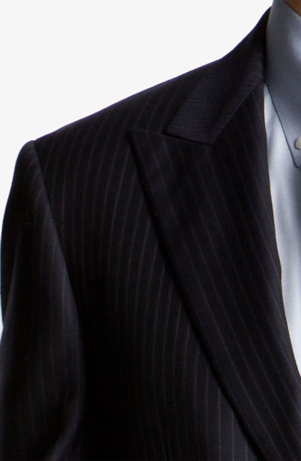 Alternate Image 6  - Joseph Abboud 'Profile' Pinstripe Wool Suit