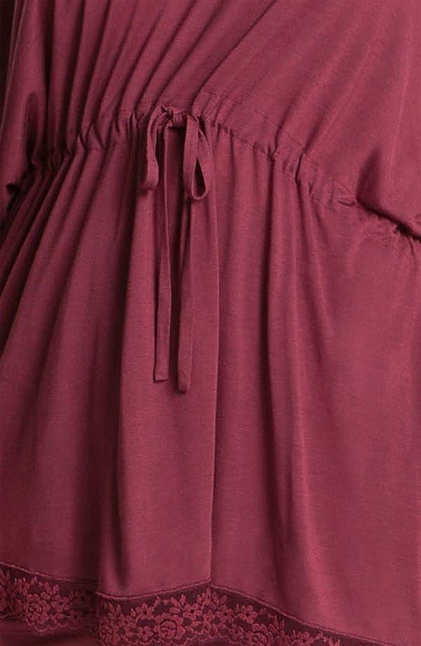 Alternate Image 3  - Midnight by Carole Hochman 'Everlasting Love' Pajamas (Plus)