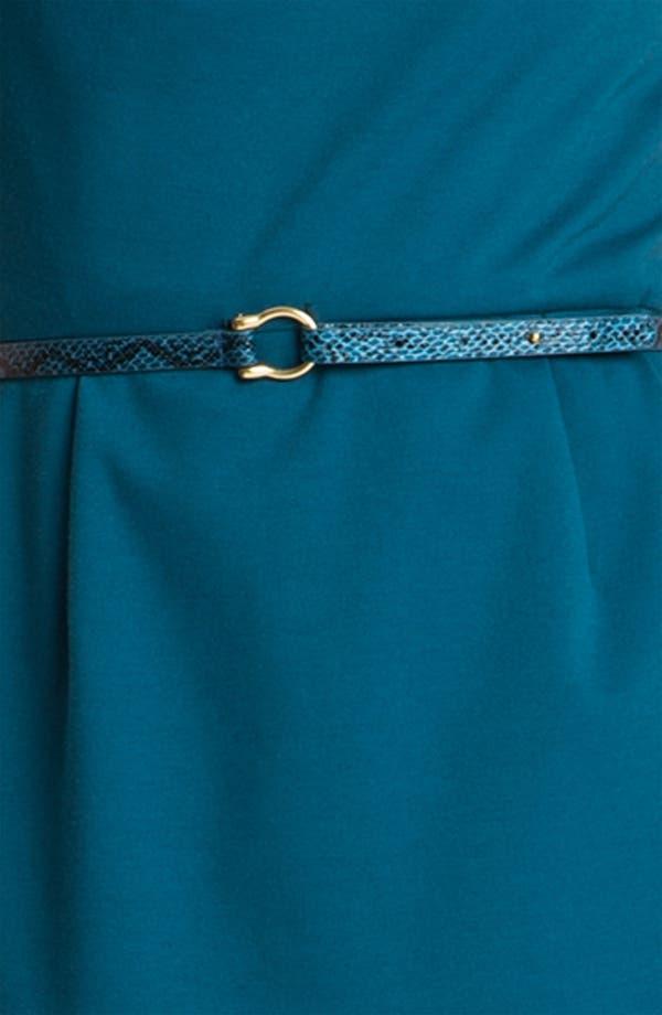 Alternate Image 3  - Tahari by Arthur S. Levine Gathered Neck Ponte Dress