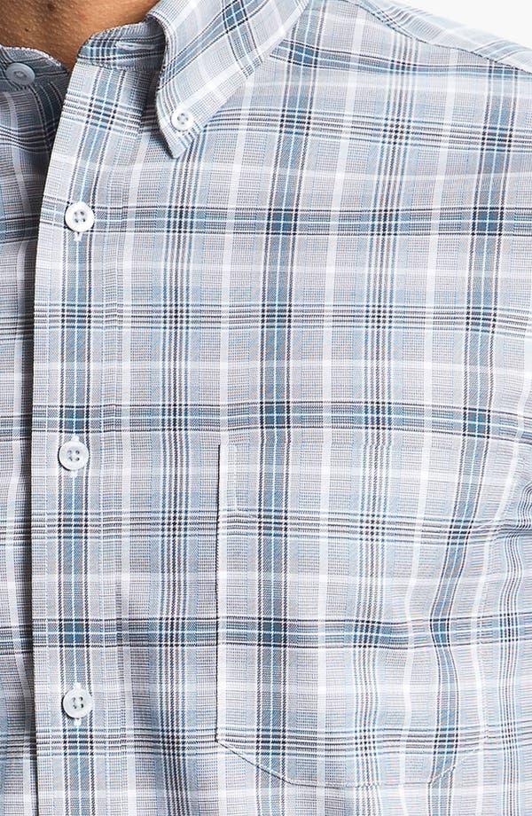 Alternate Image 3  - Nordstrom Smartcare™ Regular Fit Twill Sport Shirt
