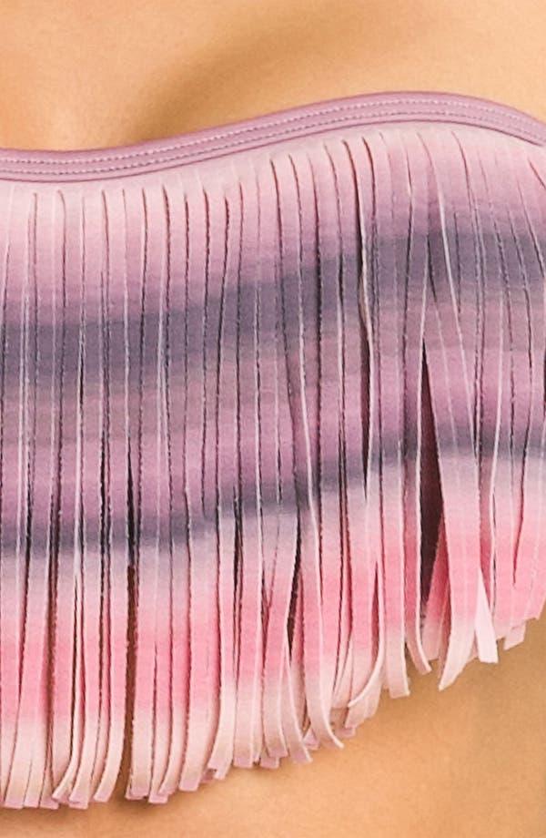 Alternate Image 3  - L Space 'Dolly Fringe Ombré' Bikini Top