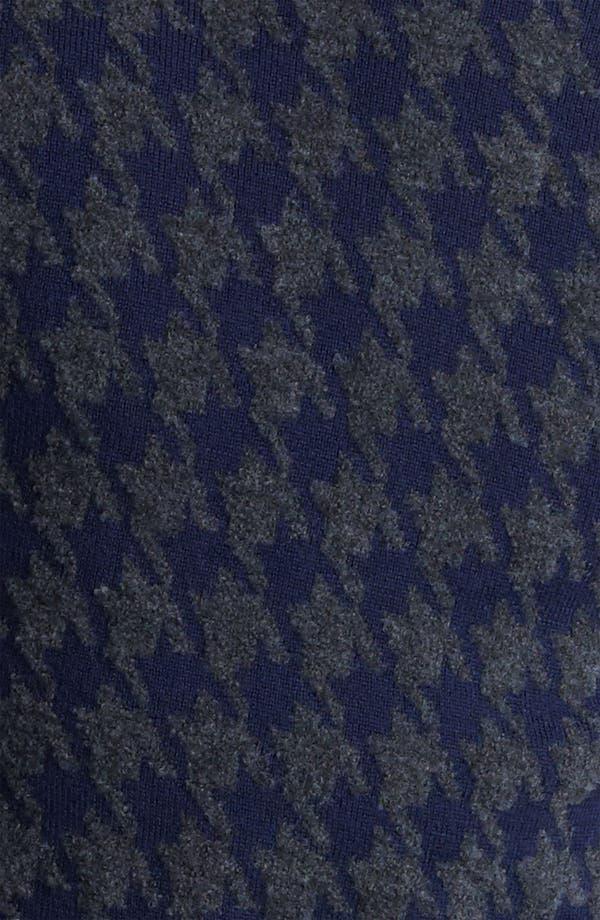 Alternate Image 3  - Z Zegna Houndstooth Crewneck Sweater