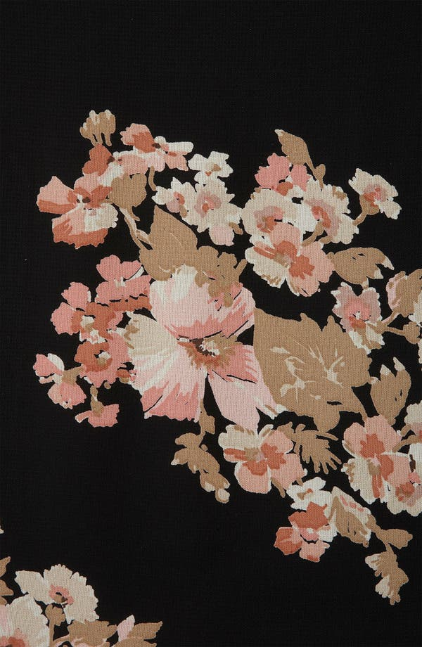 Alternate Image 3  - Topshop Floral Print Cutout Back Maternity Tunic