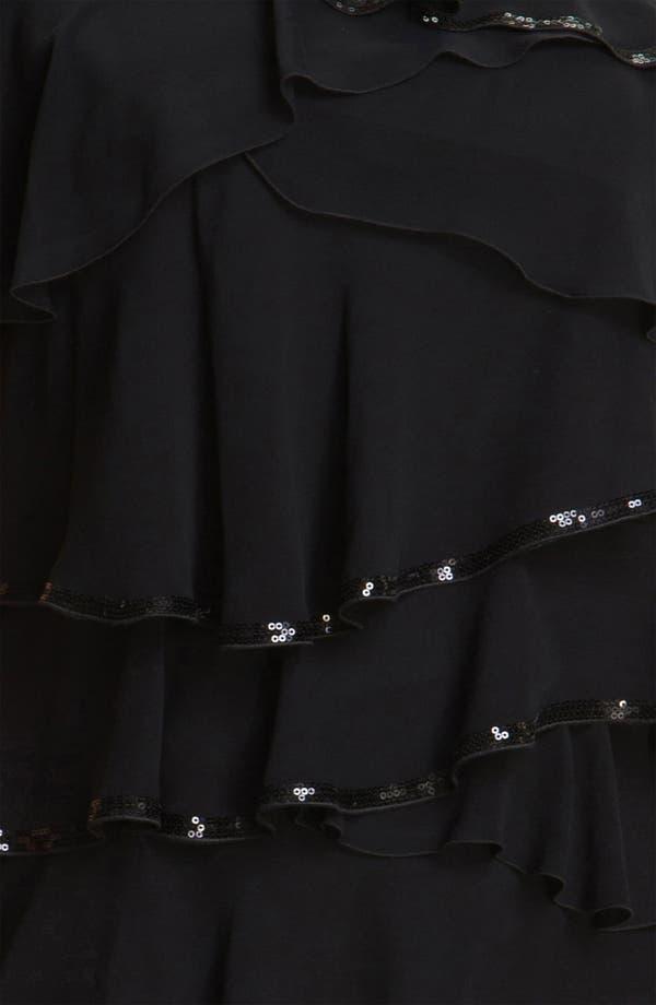 Alternate Image 3  - Calvin Klein Tiered Chiffon Shift Dress (Plus)