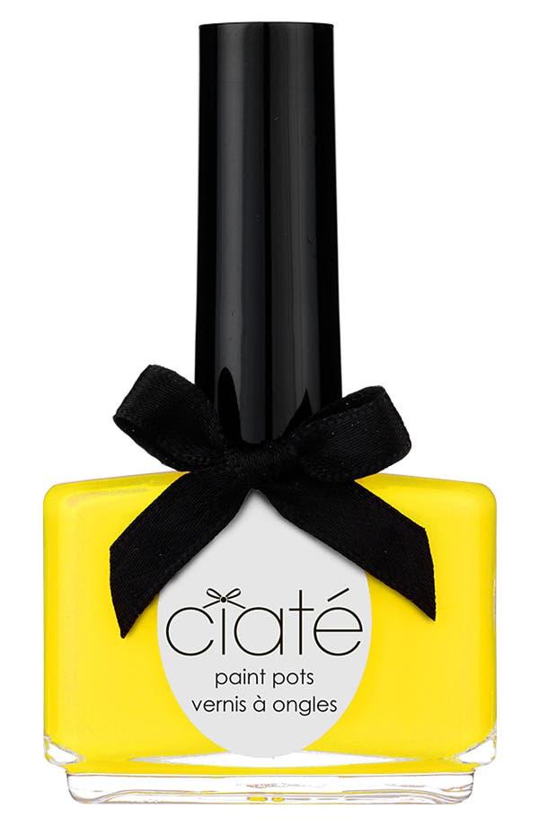 Alternate Image 1 Selected - Ciaté 'Big Yellow Taxi' Paint Pot