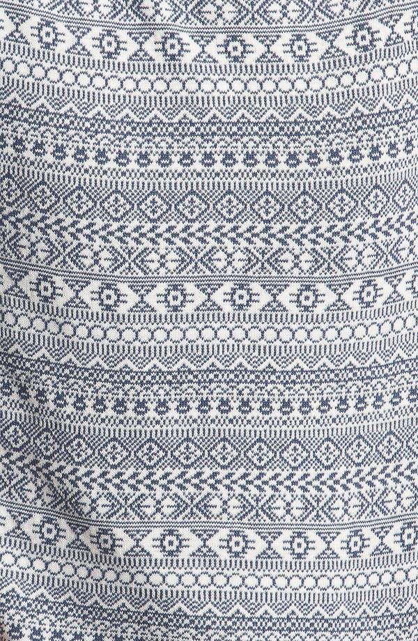 Alternate Image 3  - Topman Geometric Pattern Knit Sweater