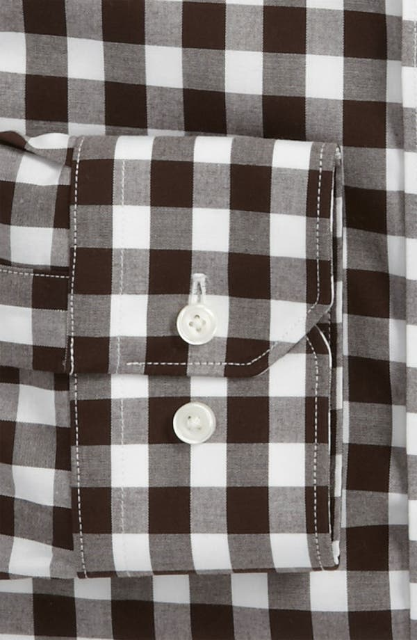 Alternate Image 2  - Calibrate Slim Fit Non Iron Gingham Dress Shirt