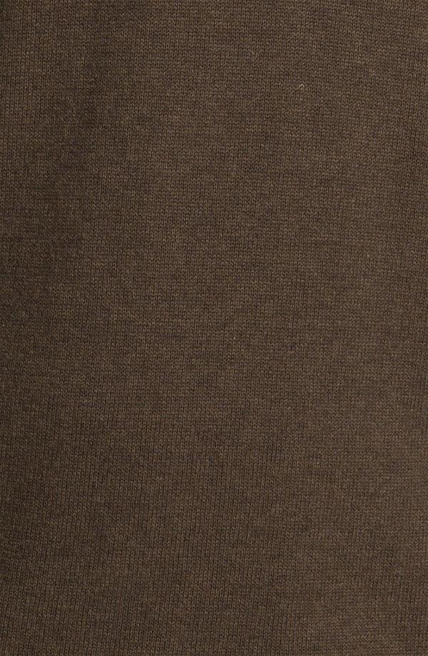 Alternate Image 3  - BOSS Black 'Palas' Regular Fit Shawl Collar Cotton & Cashmere Sweater