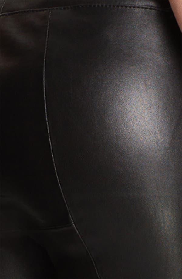 Alternate Image 3  - Elizabeth and James 'Allen' Crop Bootcut Leather Pants