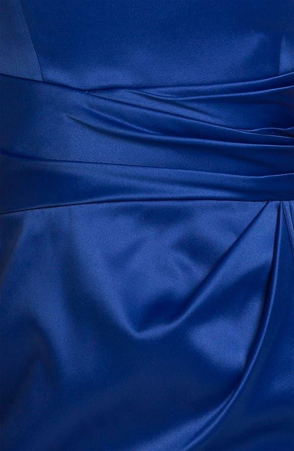 Alternate Image 3  - ML Monique Lhuillier Bridesmaids Strapless Side Pleat Dress (Nordstrom Exclusive)