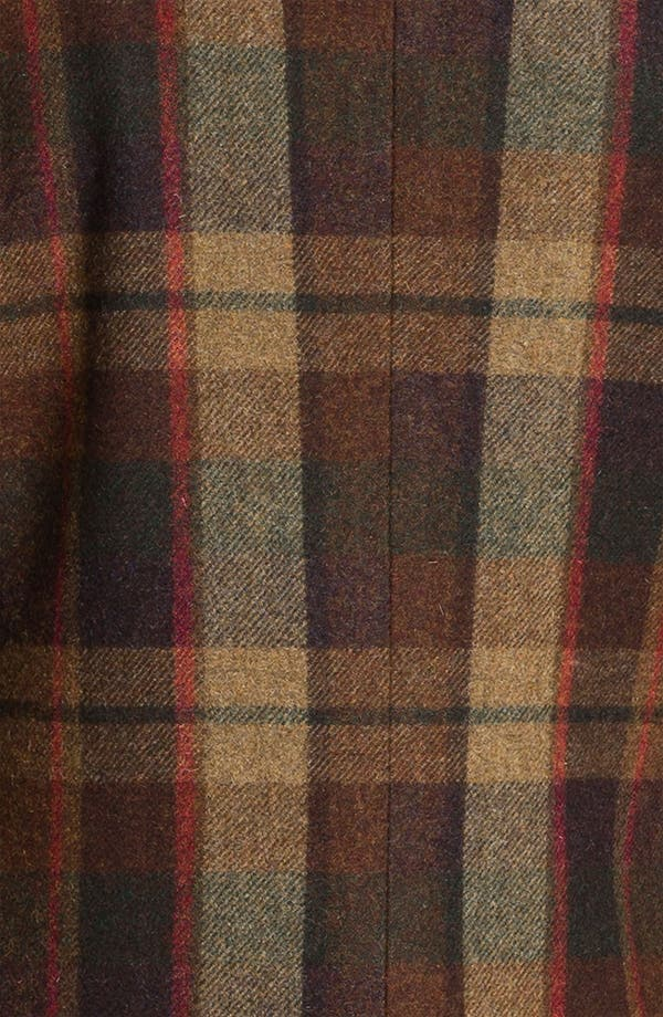 Alternate Image 3  - Ted Baker London 'Global' Trim Fit Plaid Top Coat (Online Exclusive)