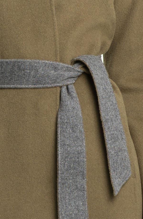 Alternate Image 3  - Eileen Fisher High Collar Belted Coat