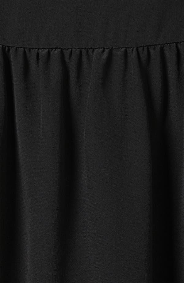 Alternate Image 3  - Topshop Boutique 'Pinny' Cutout Shoulder Dress
