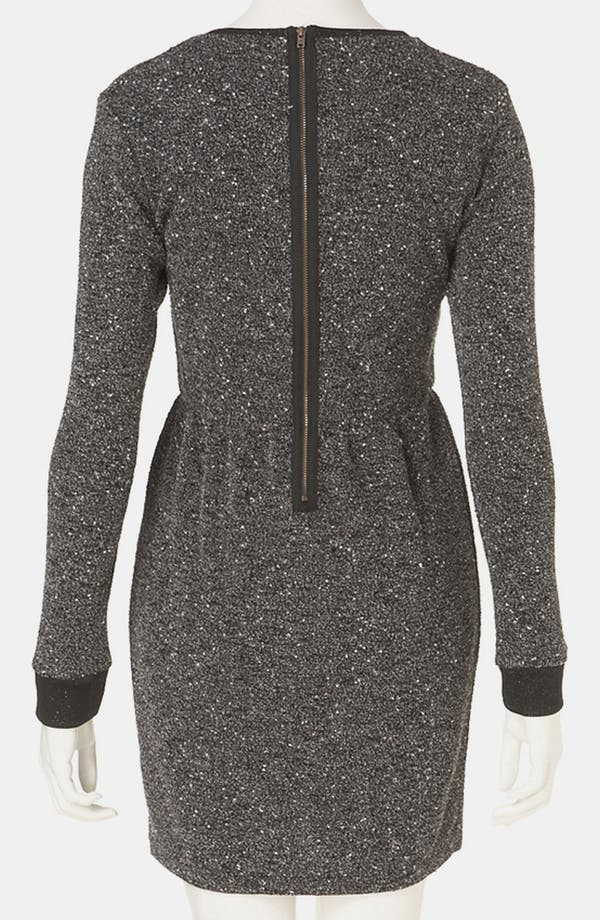 Alternate Image 2  - Topshop Mélange Knit Dress