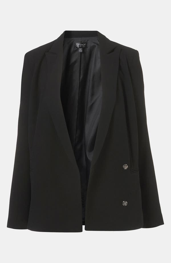Alternate Image 1 Selected - Topshop Boxy Double Breasted Blazer