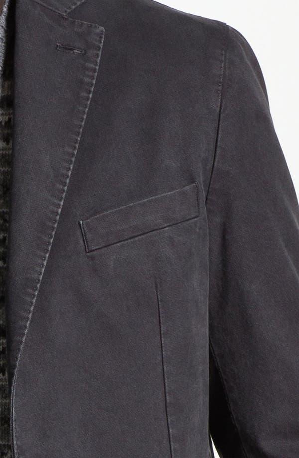 Alternate Image 3  - Lubiam Trim Fit Cotton Sportcoat