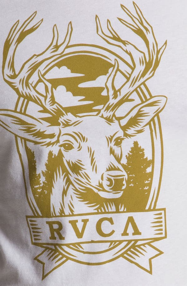 Alternate Image 3  - RVCA 'Deer Hand' Raglan T-Shirt