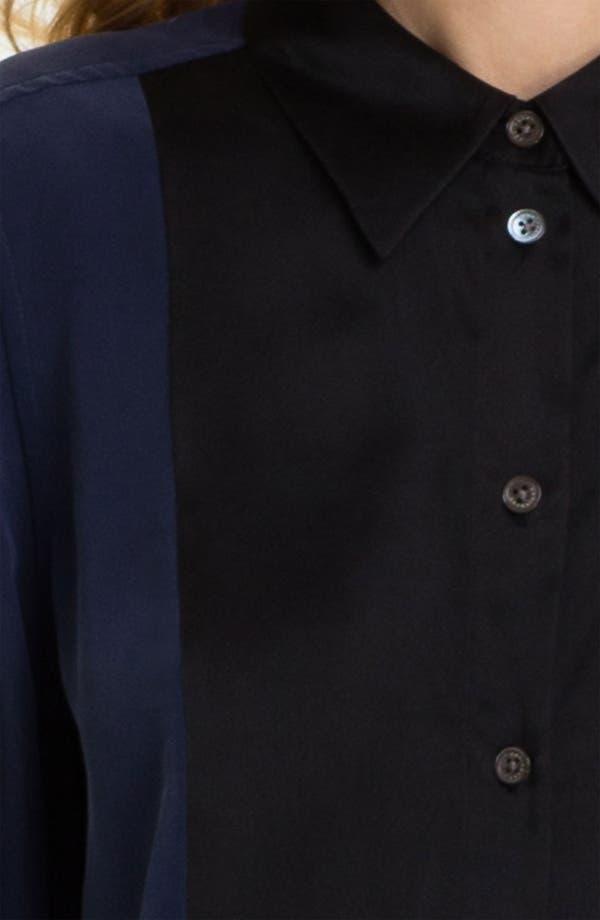 Alternate Image 3  - Equipment Colorblock Silk Shirtdress
